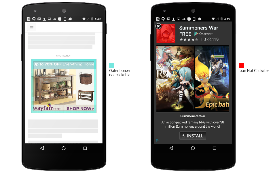 Rogue Android apps ask you to rate them 5-stars in order to unlock their  content | via ESET